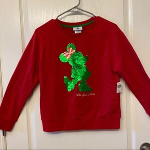 Disney Minnie Mouse Sequin Christmas Sweater
